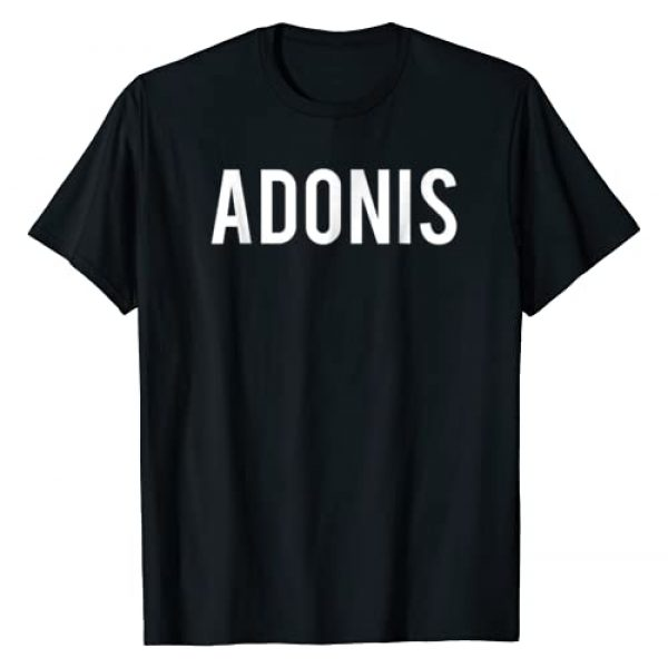 Adonis Name Shirts Graphic Tshirt 1 Adonis T Shirt - Cool new funny name fan cheap gift tee
