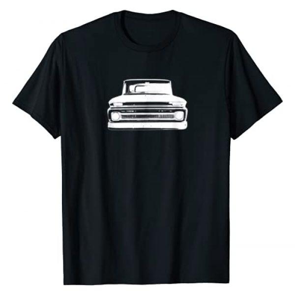 Modern Rodder Graphic Tshirt 1 1964 Classic Pickup Truck