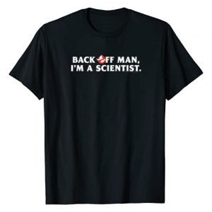 Ghostbusters Graphic Tshirt 1 Back Off Man T-shirt