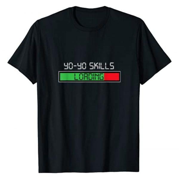Funny Sarcastic Ironic Retro Hobby Gifts Graphic Tshirt 1 Yo-Yo Skills Loading Retro Hobby Yoyo T-Shirt