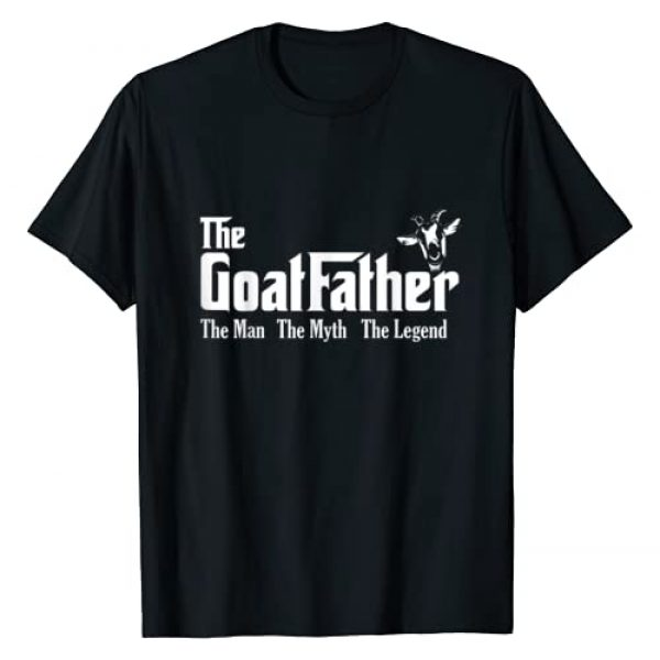 Farm n' Fancy Graphic Tshirt 1 Funny Goat Lover Gifts The Goat Father Men Kids T-Shirt