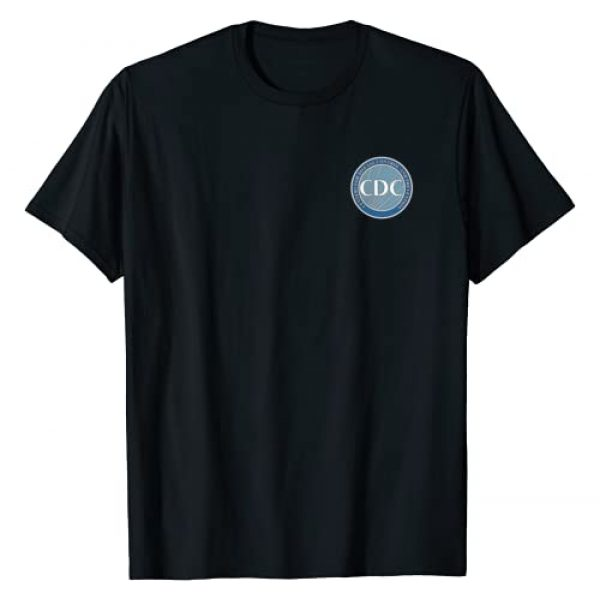 Government Agency Tees For All Graphic Tshirt 1 Centers for Disease Control and Prevention CDC T-Shirt
