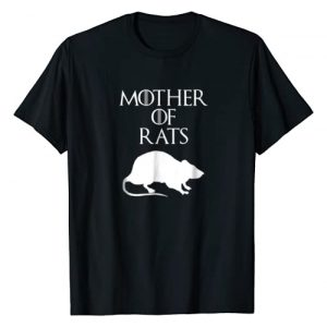 Gray & Gold Southern Apparel Graphic Tshirt 1 Cute & Unique White Mother of Rats T-shirt E010500