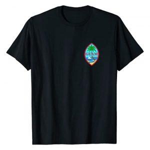 Guam Shirt   671 Guahan Guamanian Gifts Graphic Tshirt 1 Guam Flag T shirt Mens Women Kids   Chamorro Guamanian Gift T-Shirt