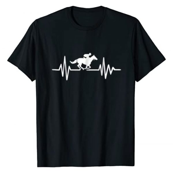 Horse race Tshirts Graphic Tshirt 1 Horse race frequency T-Shirt