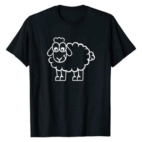 Sheep T Shirts Graphic Tshirt 1 Funny sheep T-Shirt