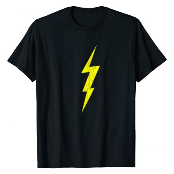 Flash Storm Tees Graphic Tshirt 1 Lightning Bolt Electrical Storm Graphic Icon T-Shirt