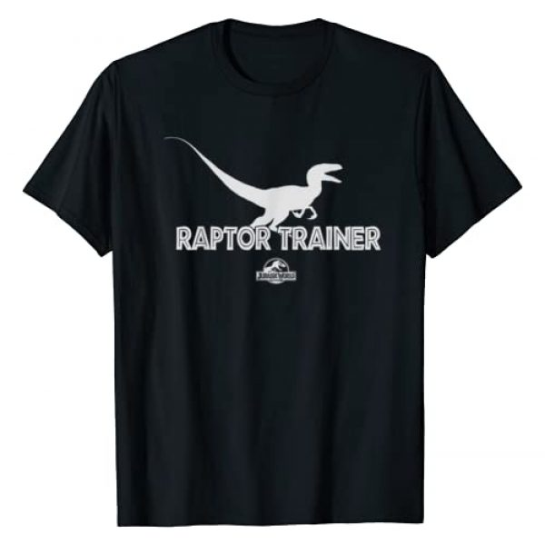 Jurassic World Graphic Tshirt 1 Raptor Trainer Silhouette Graphic T-Shirt