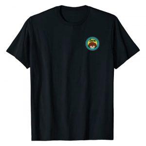 Daria Graphic Tshirt 1 Left Chest Classic Yellow Blue Logo Graphic T-Shirt
