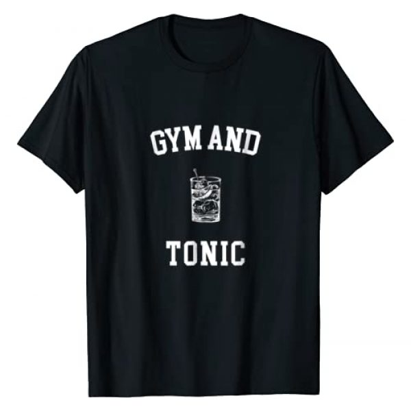 Gym&Tonic Graphic Tshirt 1 Funny Gym and Tonic Cute Workout T Shirt