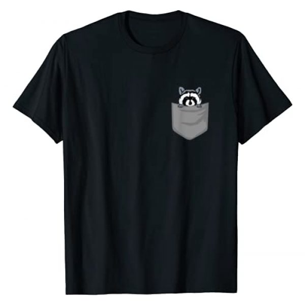 Pocket Raccoon Graphic Tshirt 1 for a Funny Raccoon in your Pocket Fan T-Shirt