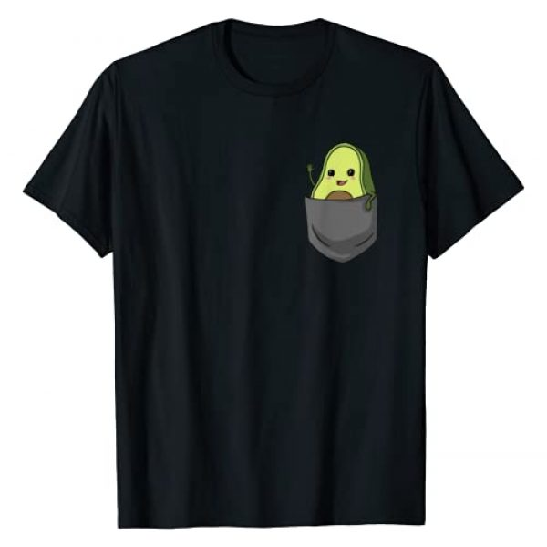 Avocado Lover Gifts & Gift Ideas Graphic Tshirt 1 Avocado Pocket Funny Avocado in Pocket T-Shirt