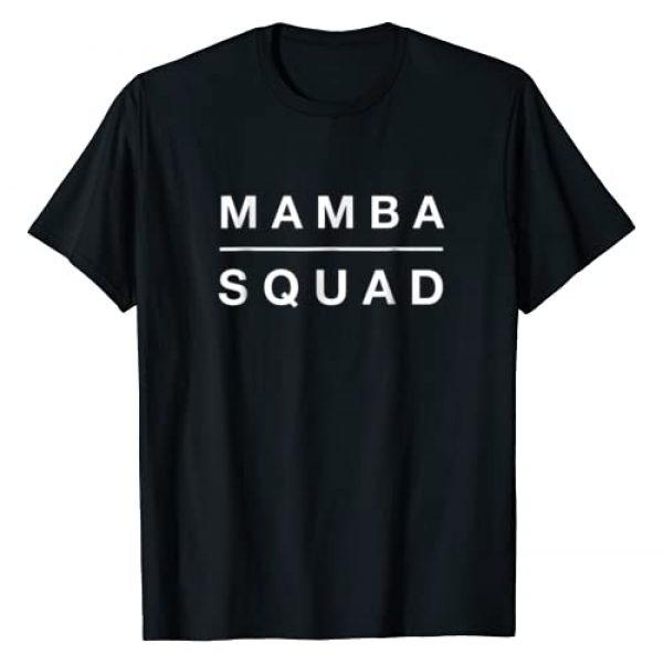 Mamba Squad T-shirts Club Graphic Tshirt 1 Funny Mamba Squad T-shirt