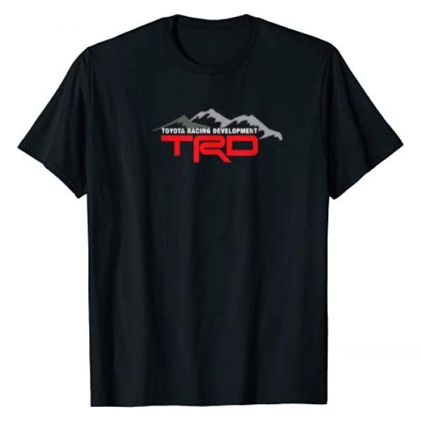 CarTees Graphic Tshirt 1 TRD Racing Development Logo T-Shirt