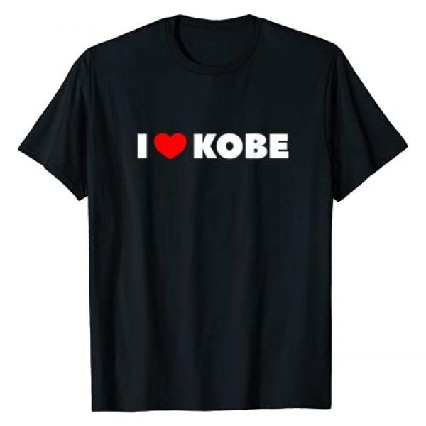 I Love Kobe Shirts Graphic Tshirt 1 I Love (Heart) Kobe T-Shirt T-Shirt