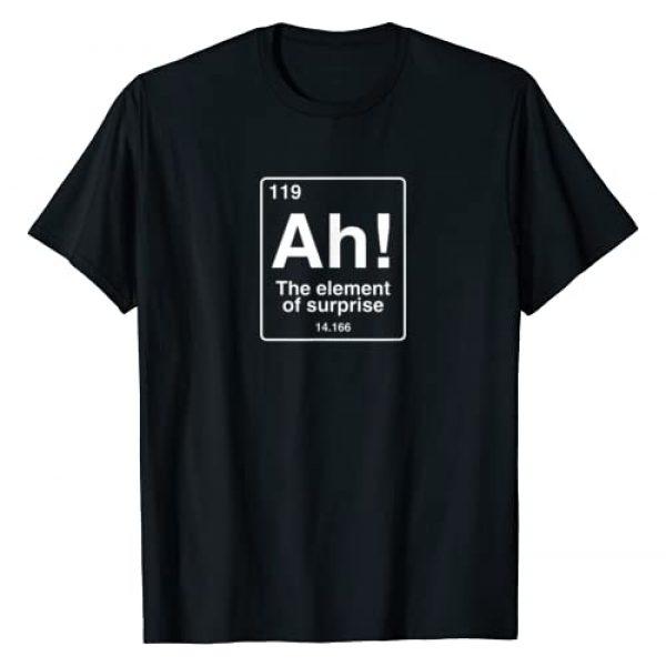 Ah The element of surprise geek shirts & more Graphic Tshirt 1 Ah The element of surprise funny geek periodic table T-Shirt