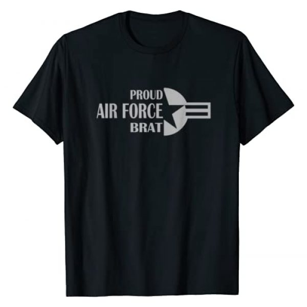 BratWear Graphic Tshirt 1 Proud Air Force Brat American Aircraft Roundel Star T-Shirt