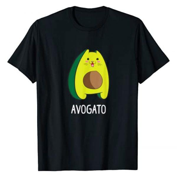 Cat Graphic Tshirt 1 Avagato Cat Design Avogato Avocado Gift T-Shirt
