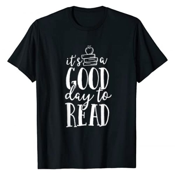 School Squad Graphic Tshirt 1 It's A Good Day To Read Teacher School Librarian Book Lover T-Shirt