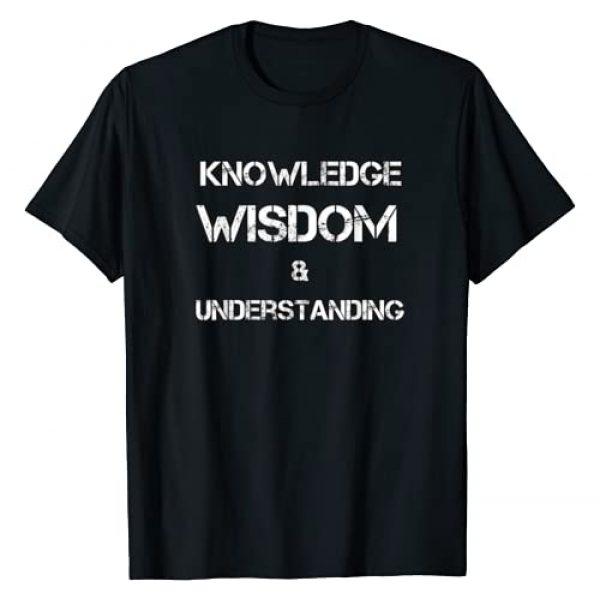 5 percenter shirt Graphic Tshirt 1 Knowledge Wisdom & Understanding NGE 5 percent t shirt