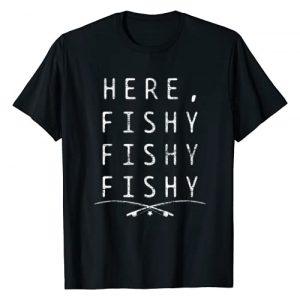 Fishing Gifts for Men Graphic Tshirt 1 Fishing Fisher T-Shirt