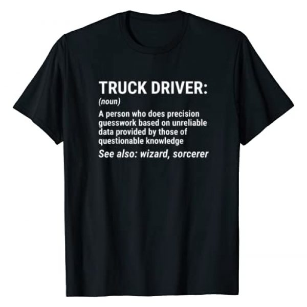 Truck Driver Definition Apparel Gift Graphic Tshirt 1 Truck Driver Definition T-shirt Funny Trucker Tee Gift