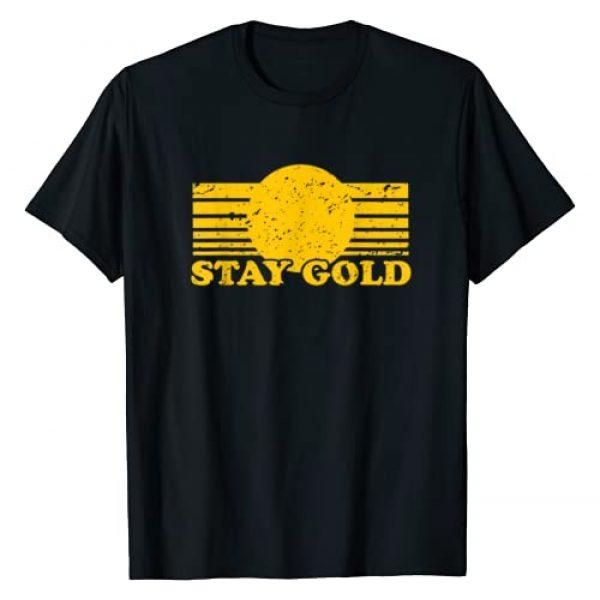 Ghost Tees Graphic Tshirt 1 Stay Gold Ponyboy Outsiders Book Movie Novel Retro T-Shirt