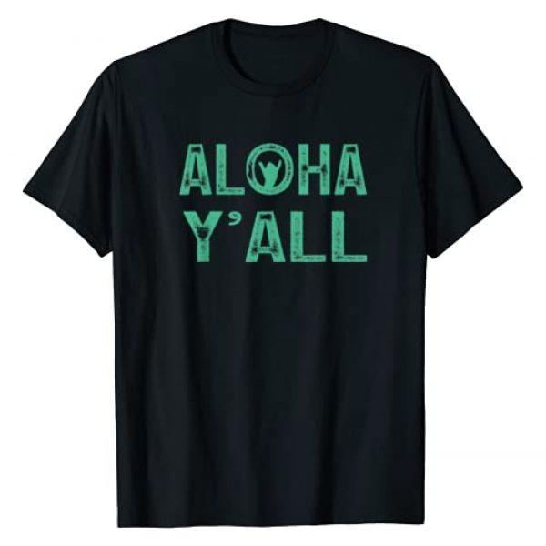Funny Hawaiian Tshirt Aloha Y'all Tshirt 808 Co Graphic Tshirt 1 Funny Hawaiian Tshirt Aloha Y'all Tshirt Hawaii Tshirt 808 T-Shirt