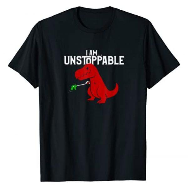 Funny I Am Unstoppable T-Rex Dinosaur T-Shirts Graphic Tshirt 1 Cute & Funny I Am Unstoppable T-Rex Dinosaur T-Shirt