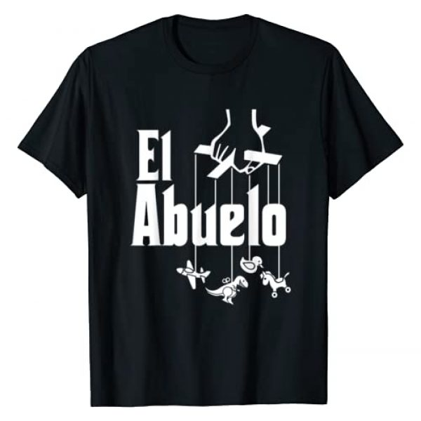 Father's Day and Grandfather Gift Shirts Graphic Tshirt 1 Mens El Abuelo - Spanish Hispanic Grandfather T-Shirt