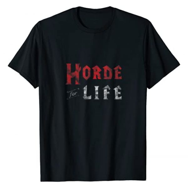 NOOB IRL Graphic Tshirt 1 Horde for Life WoW T-Shirt