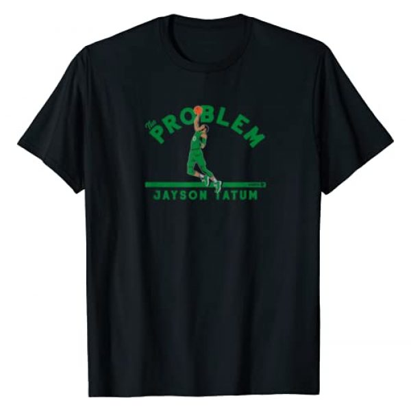 BreakingT Graphic Tshirt 1 Officially Licensed Jayson Tatum - The Problem T-Shirt