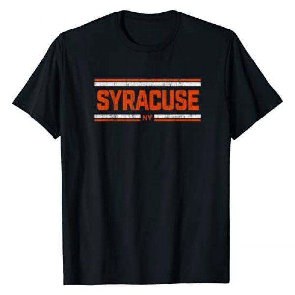 Vintage Syracuse Apparel Company Graphic Tshirt 1 Retro Vintage Syracuse NY Distressed T-Shirt