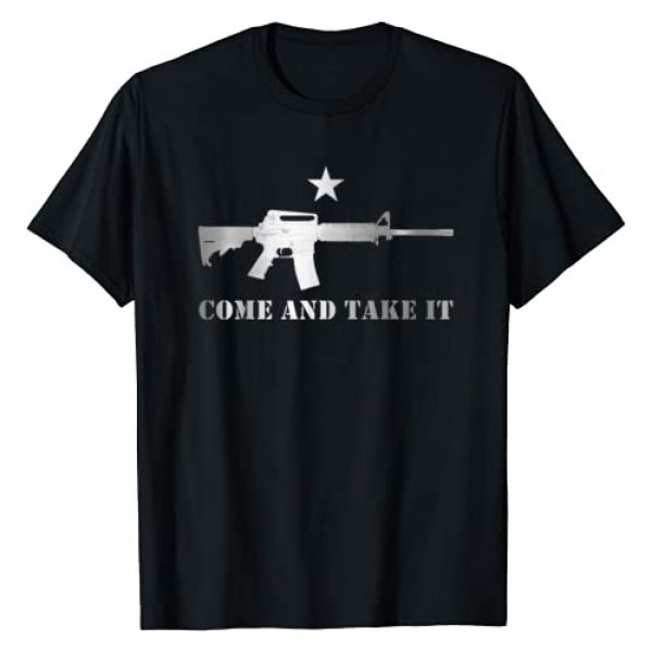 Pacific Oracle T Shirts & Gifts Graphic Tshirt 1 Awesome Come and Take It Shirt Gun Rights Supporter T Shirt T-Shirt
