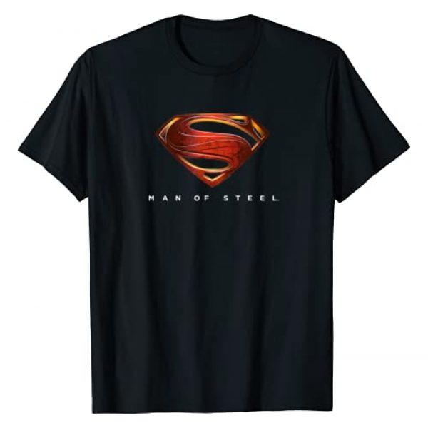 DC Comics Graphic Tshirt 1 Superman Man of Steel New Logo T-Shirt