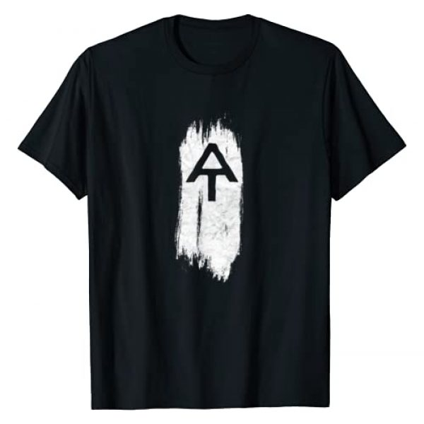 Symbiosis Supply Co. Graphic Tshirt 1 White Blaze Appalachian Trail AT Minimalist Hiking Retro T-Shirt