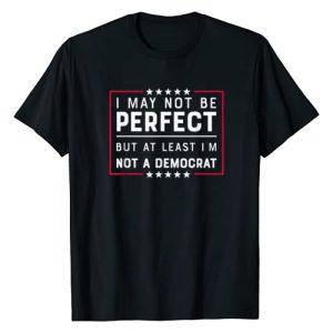 REPUBLICAN TEES Graphic Tshirt 1 At least I'm Not A Democrat Funny Republican T-Shirt