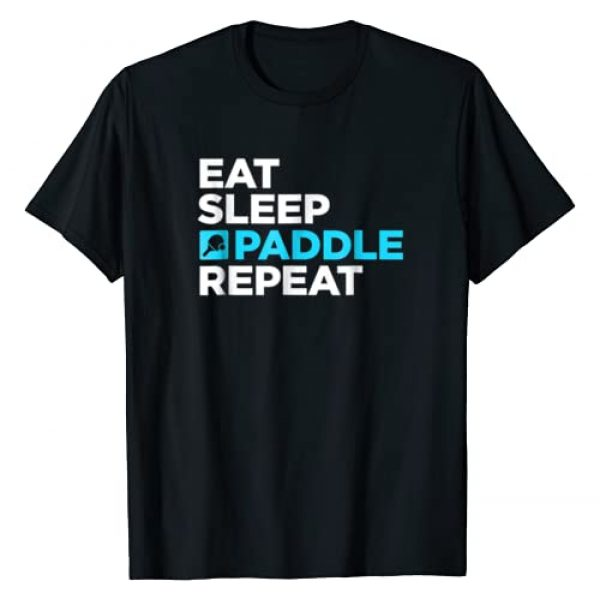 Paddleball Tee Shirts Graphic Tshirt 1 Repeat | Paddleball T-Shirt / Gift For Paddle Ball Players