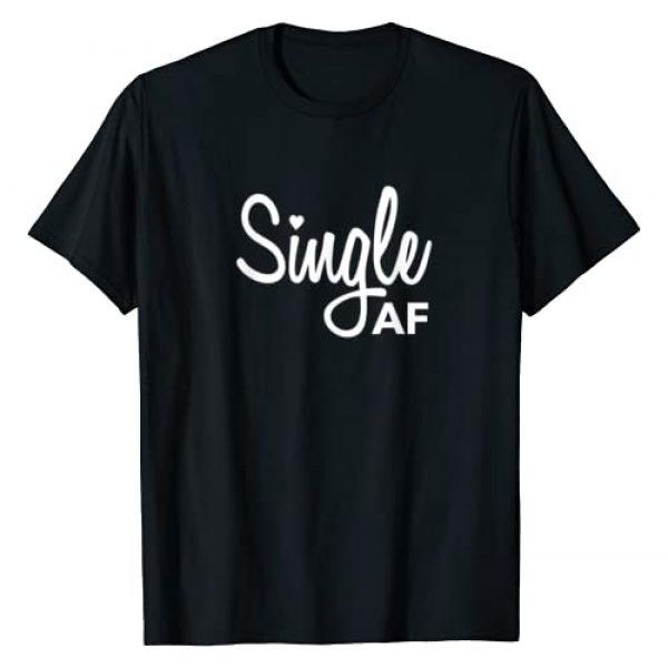 Doop Designs Graphic Tshirt 1 Single AF Shirt: Single Person | Breakup Shirt | Party Shirt