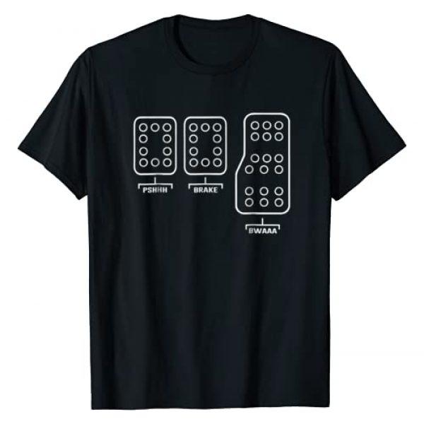 Nurburgring German Culture Graphic Tshirt 1 Save Manual Pedal Shift Diagram Car Racing Shirt Tee T-shirt