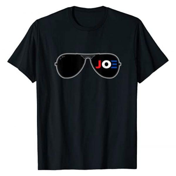 President Joe Biden Graphic Tshirt 1 Joe Biden Aviator Sunglasses Patriotic American T-Shirt
