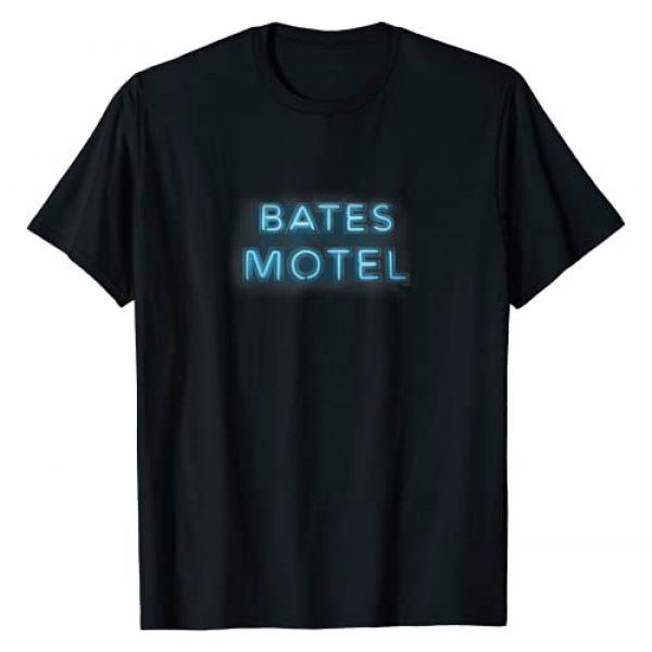 NBC Graphic Tshirt 1 Bates Motel Sign Logo T-Shirt