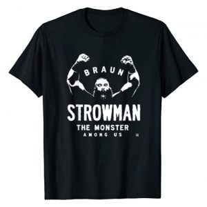 WWE Graphic Tshirt 1 Braun Strowman The Monster Among Men T-Shirt