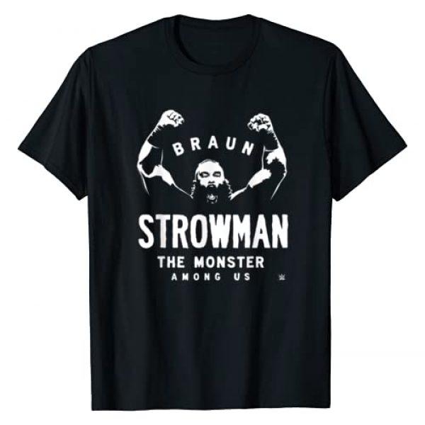 WWE Graphic Tshirt 1 Braun Strowman The Monster Among Men T-Shirt