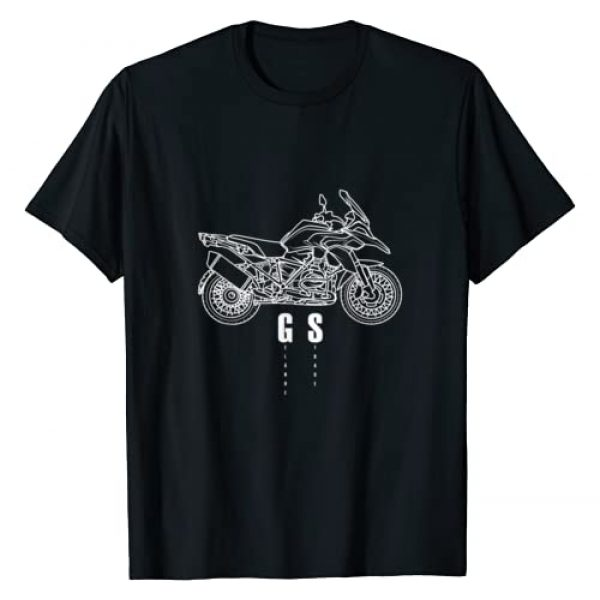 enduro motorcycle desings Graphic Tshirt 1 R1200GS Enduro Motorrad GS T-Shirt