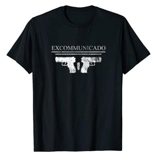 Automatic Arsenal Tee Shop Graphic Tshirt 1 Excommunicado T-Shirt Novelty P30L Pistol Gun Gift T-Shirt