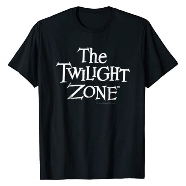 Twilight Zone Graphic Tshirt 1 Simple Title Text Graphic T-Shirt