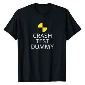 Funny Crash Test Dummy Gift Graphic Tshirt 1 Crash Test Dummy Easy Last Minute Funny Costume Gift for men T-Shirt