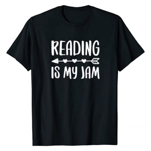 Reading Is My Jam Shirts Graphic Tshirt 1 Reading Is My Jam T-Shirt Literacy Lover Gift Shirt T-Shirt