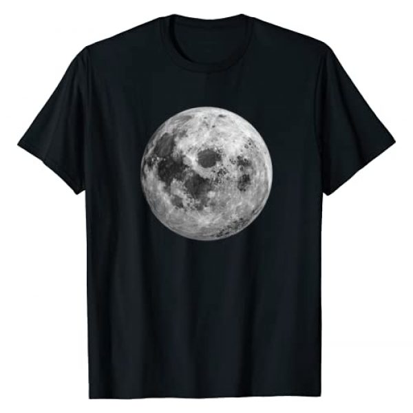 Mission Control by DSMD Graphic Tshirt 1 Cool Full Moon T-Shirt Space Science Gift 50th Anniversary